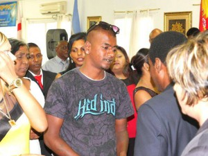Young man left home, handkerchiefs, came home, to church saved delivered