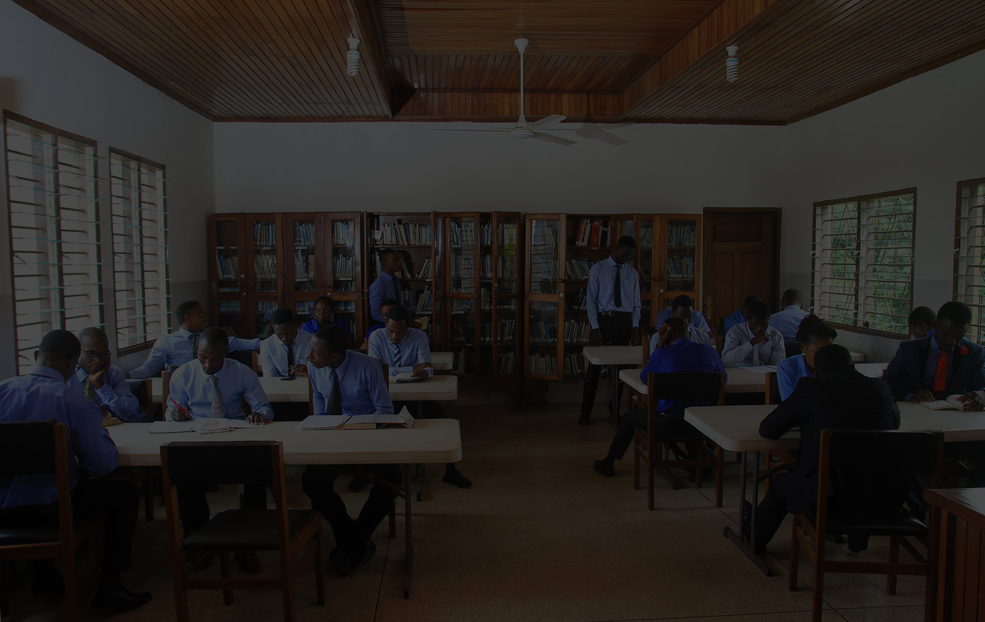 One of the finest libraries in Ghana
