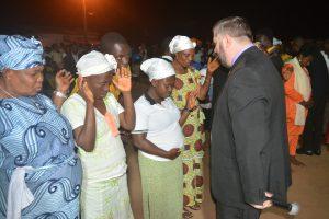 Woman healed 1