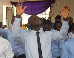 Corporate worship service