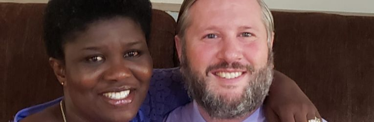 Dr. Aaron and Grace Anthony send Easter greetings